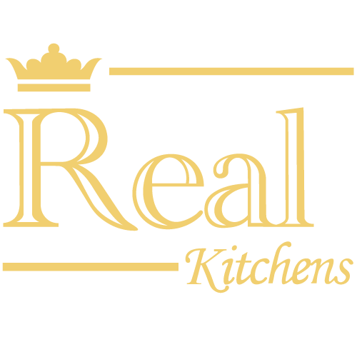 Real Kitchens Logo Dorado